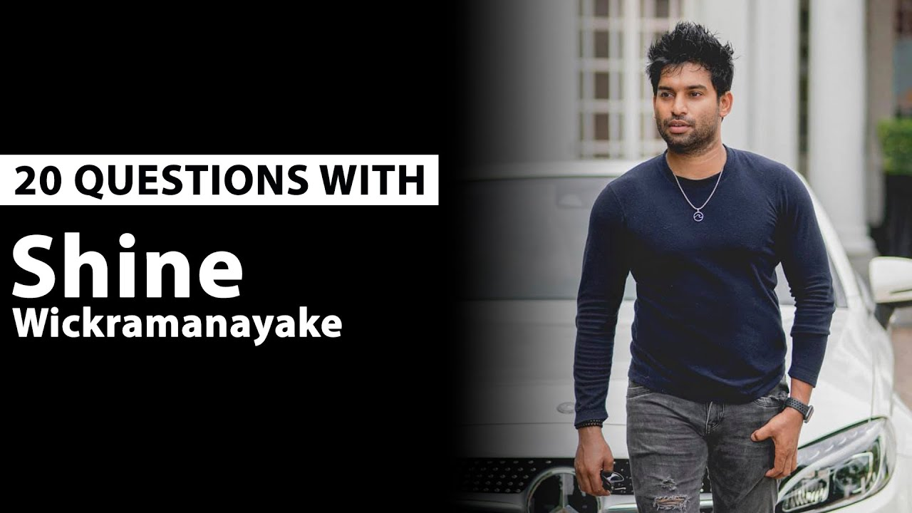 20 Questions with Photographer Shine Wickramanayake !