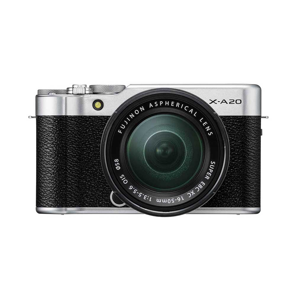 FUJIFILM X-A20 Mirrorless Camera with FUJINON XC 15-45 mm f/3.5-5.6 OIS PZ Lens