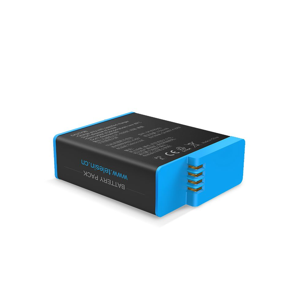 TELESIN GoPro Rechargeable Batteries for Gopro Hero 9 Black