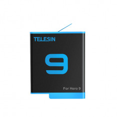 TELESIN GoPro Rechargeable Batterie for Gopro Hero 9 Black