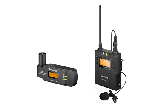 Saramonic UwMic9 Kit7 TX9+ RX-XLR9 UHF wireless microphone system