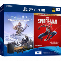 PS4 Pro Marvels Spider-Man Game Of The Year Edition / Horizon Zero Dawn™ Complete Edition Bundle