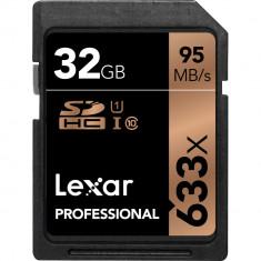 Lexar 32GB Professional 633x UHS-I SDHC Memory Card