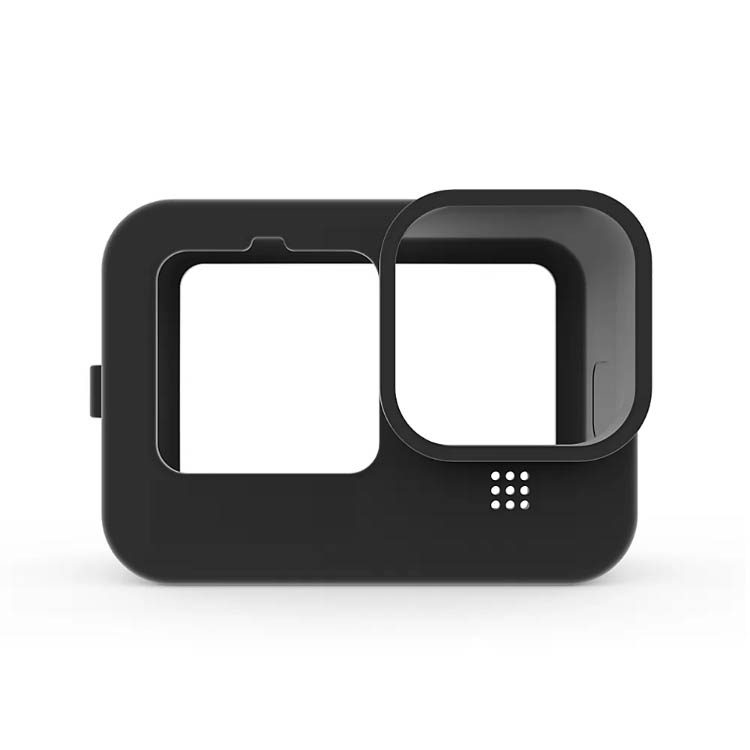 Black Silicone Soft Case Protector for GoPro 9