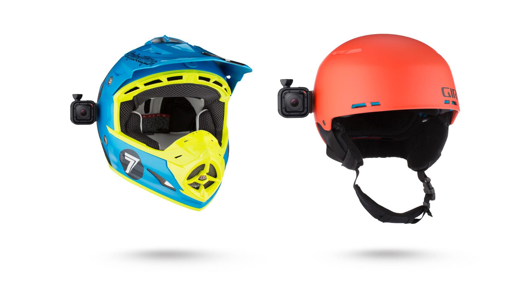 Low Profile Helmet Swivel Mount for Session