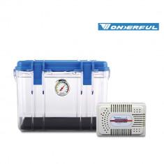 Wonderful Small Clear Dry Box DB - 2820 with Silica Unit