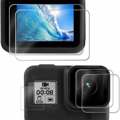 GoPro Hero 8 Ultra Clear LCD Screen Protector + Lens Protector