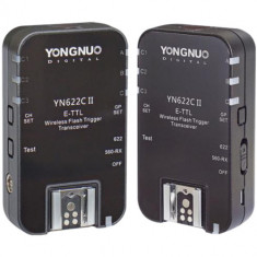 Yongnuo YN-622C II E-TTL Wireless Flash Transceiver for Canon (2-Pack)