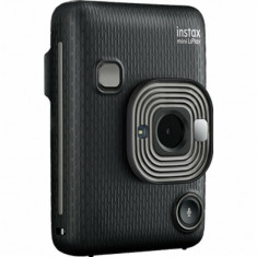 FUJIFILM INSTAX Mini LiPlay Hybrid Instant Camera (Dark Gray)