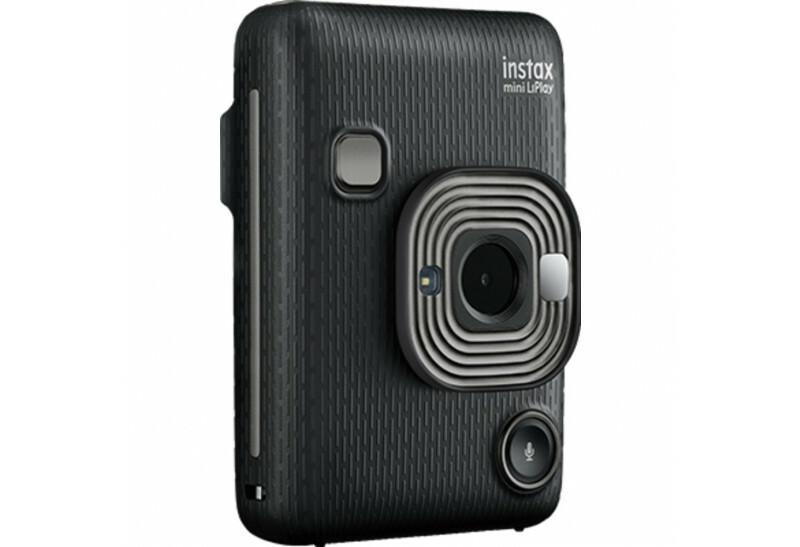FUJIFILM INSTAX Mini LiPlay Hybrid Instant Camera (Dark Gray)