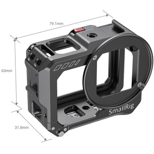 SmallRig Vlogging Cage for GoPro HERO8 Black