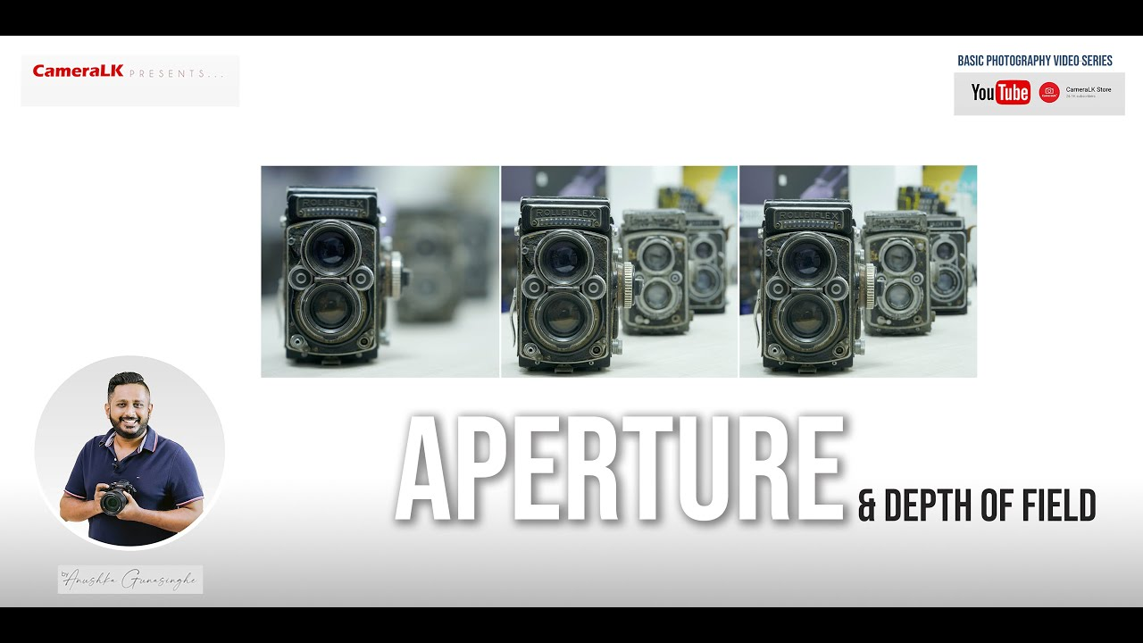 Learn photography episode 04 - Aperture