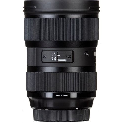 Sigma 24-35mm f/2 DG HSM Art Lens for Nikon F