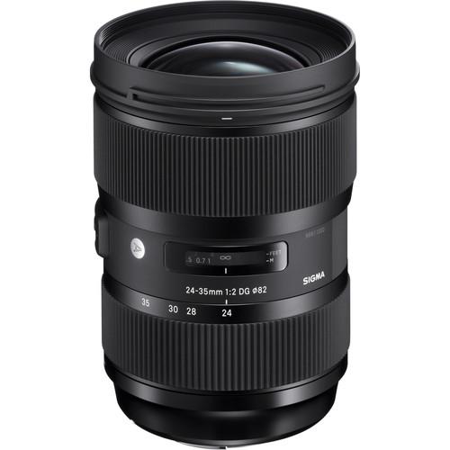Sigma 24-35mm f/2 DG HSM Art Lens for Canon EF
