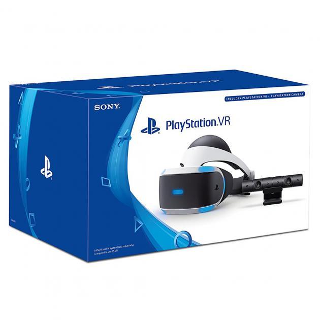 Sony PlayStation VR Headset + Camera