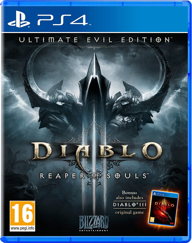 Diablo III 3 Reaper of Souls Ultimate Evil Edition PS4