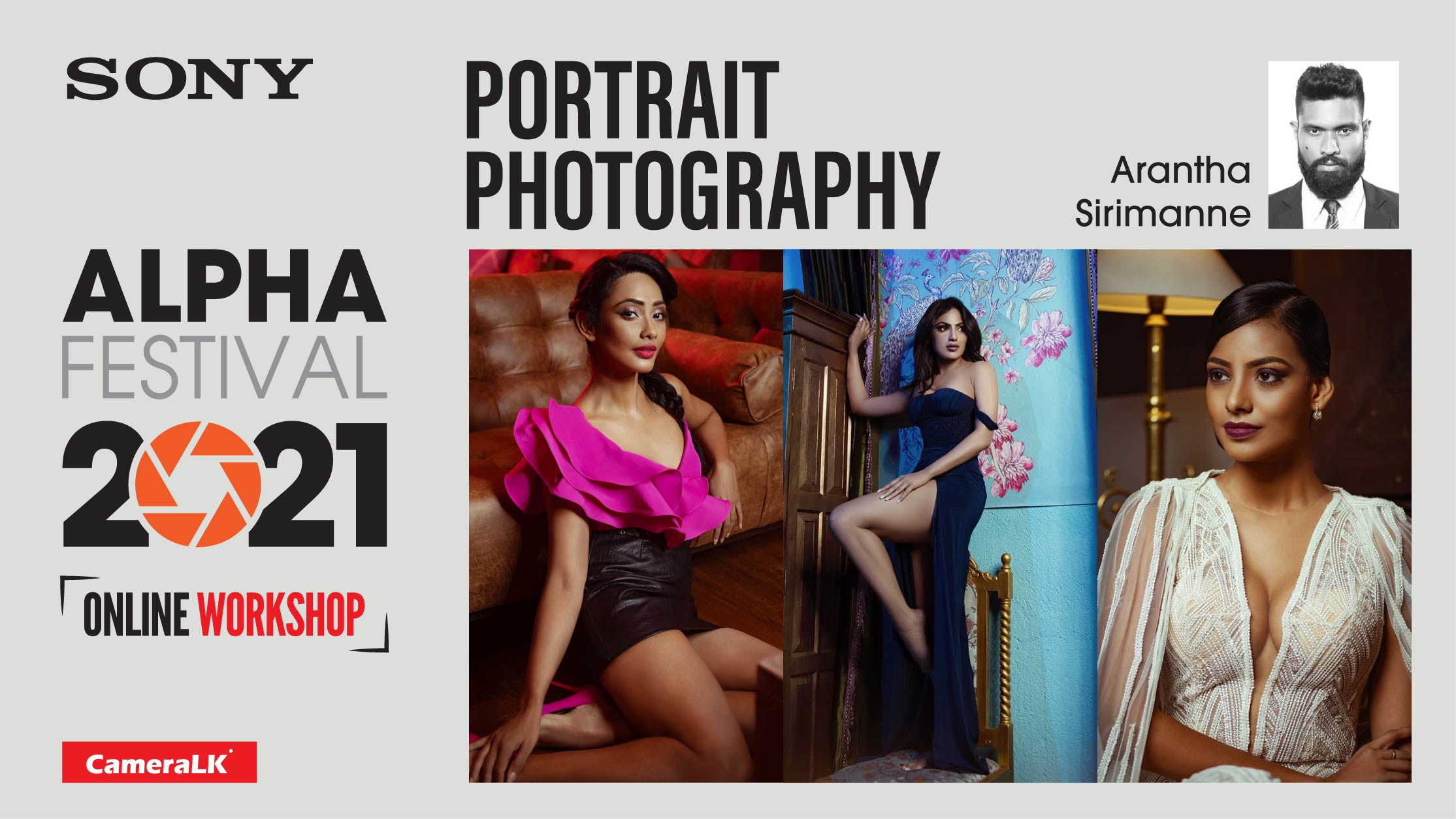 Portrait Photography Workshop By Arantha Sirimanne