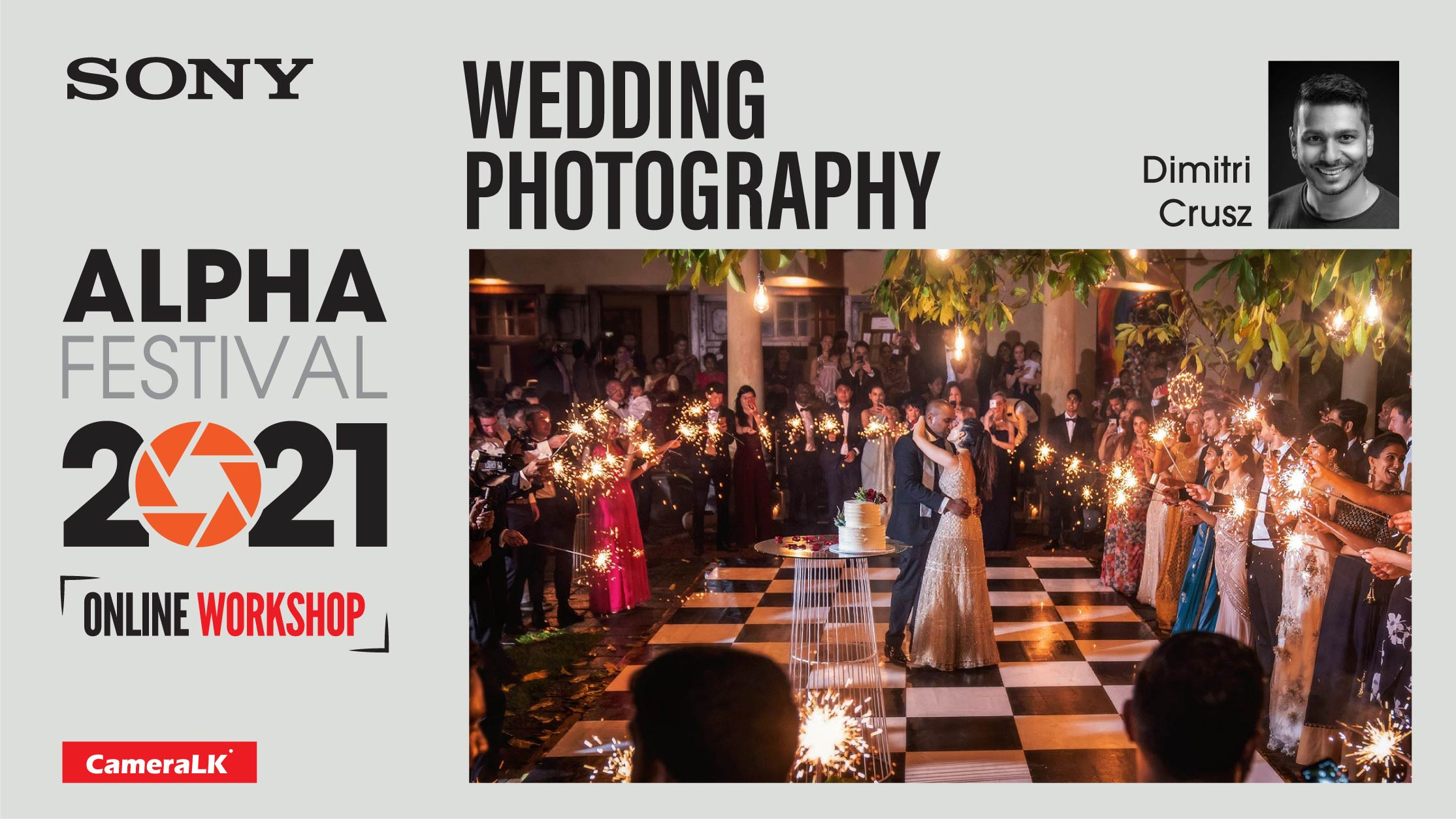 Wedding Photography Workshop By Dimitri Crusz