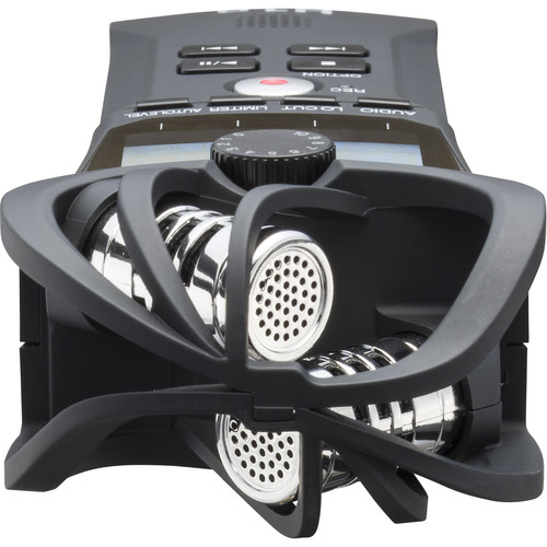 Zoom H1n 2-Input / 2-Track Portable Handy Recorder with Onboard X/Y Microphone (Black)