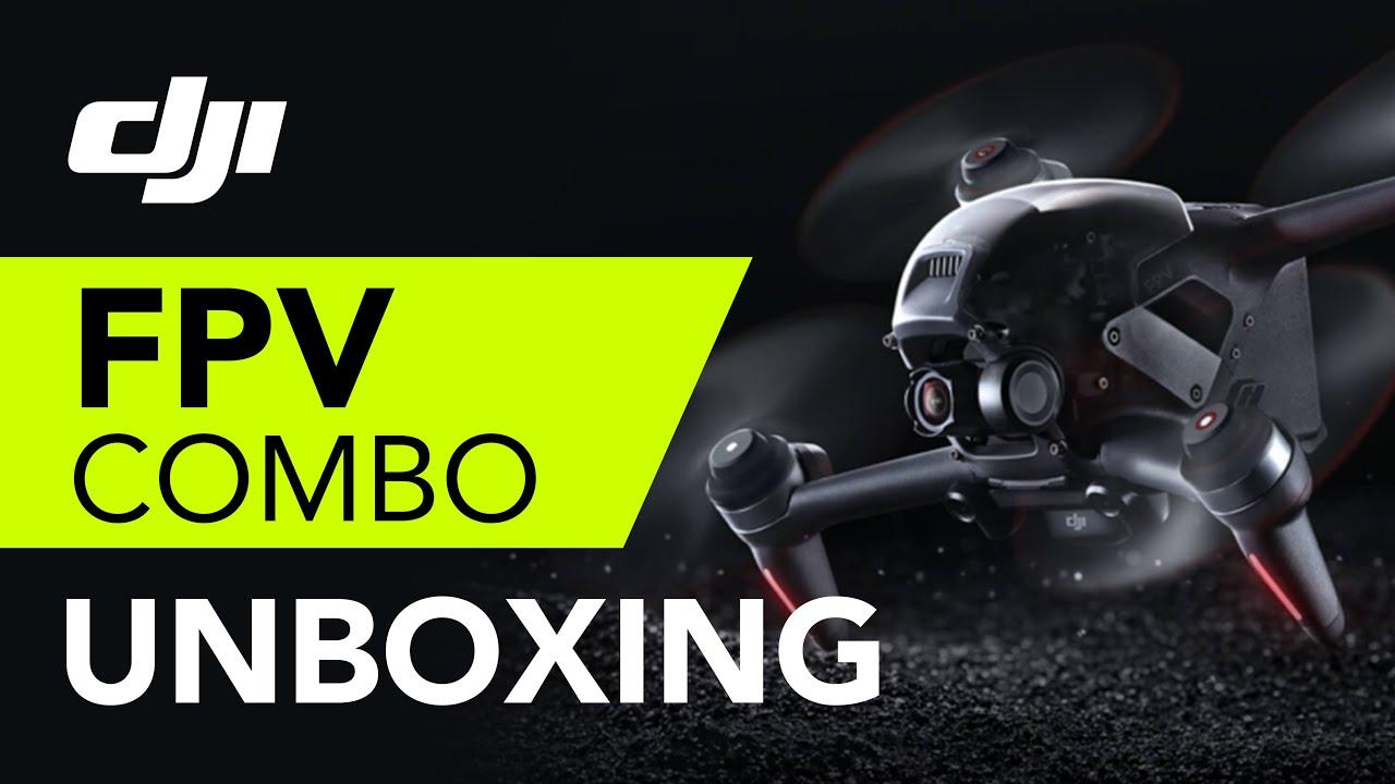 DJI FPV Drone Unboxing සිංහලෙන් !