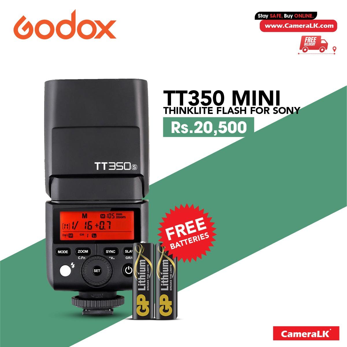 Godox TT350S Mini Thinklite TTL Flash for Sony Cameras