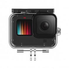 TELESIN Professional 45M Diving Waterproof Case Used For GoPro Hero9 Black Sports Camera