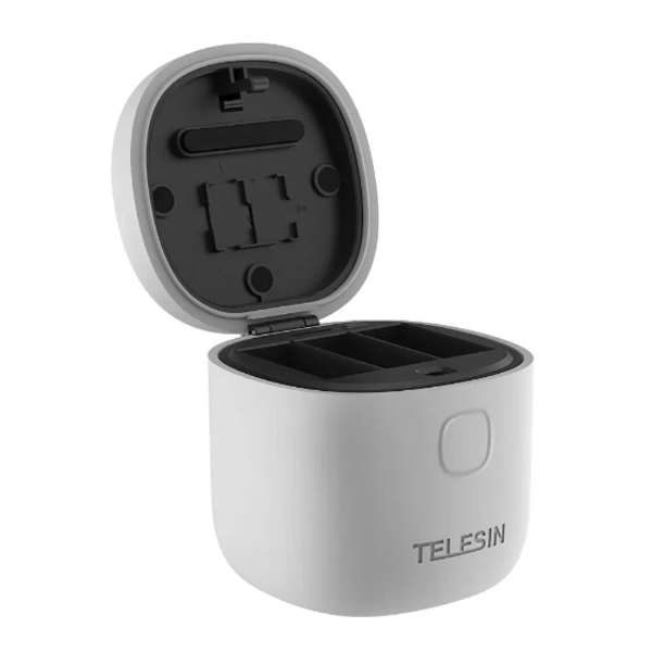 TELESIN ALLIN BOX Portable Storage Charger For GoPro Hero9 Black