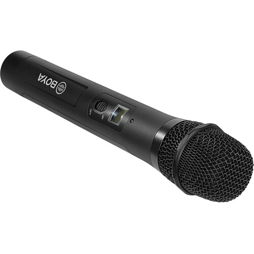 BOYA BY-WHM8 Pro Cardioid Wireless Transmitter/Handheld Microphone (556 to 595 MHz)