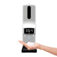 Intelligent Sensor Sanitizer Dispenser with Temperature Measure, K9X