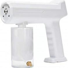 Fogger Machine Wireless Electric Sanitizer Sprayer Disinfects Blue Light Nano Steam Spray Gun 300ML