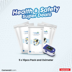 5 x 10pcs Forecare Mask Packs With Oximeter