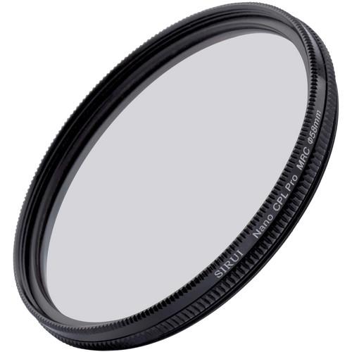 Sirui 58mm Ultra Slim S-Pro Nano MC Circular Polarizer Filter (Aluminum Filter Ring)