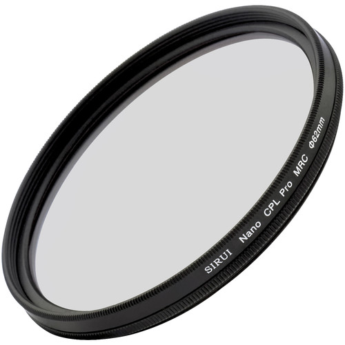 Sirui 62mm Ultra Slim S-Pro Nano MC Circular Polarizer Filter (Aluminum Filter Ring)