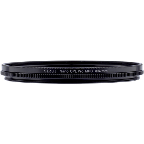 Sirui 67mm Ultra Slim S-Pro Nano MC Circular Polarizer Filter (Aluminum Filter Ring)
