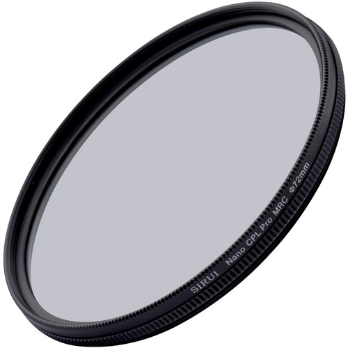 Sirui 72mm Ultra Slim S-Pro Nano MC Circular Polarizer Filter (Aluminum Filter Ring)