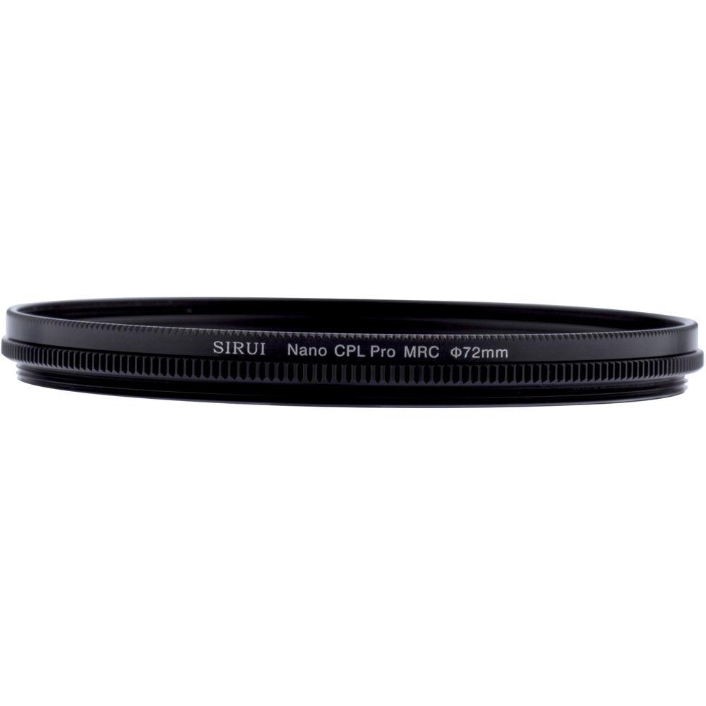 Sirui 72mm Ultra Slim S-Pro Nano MC Circular Polarizer Filter (Aluminum Filter Ring)