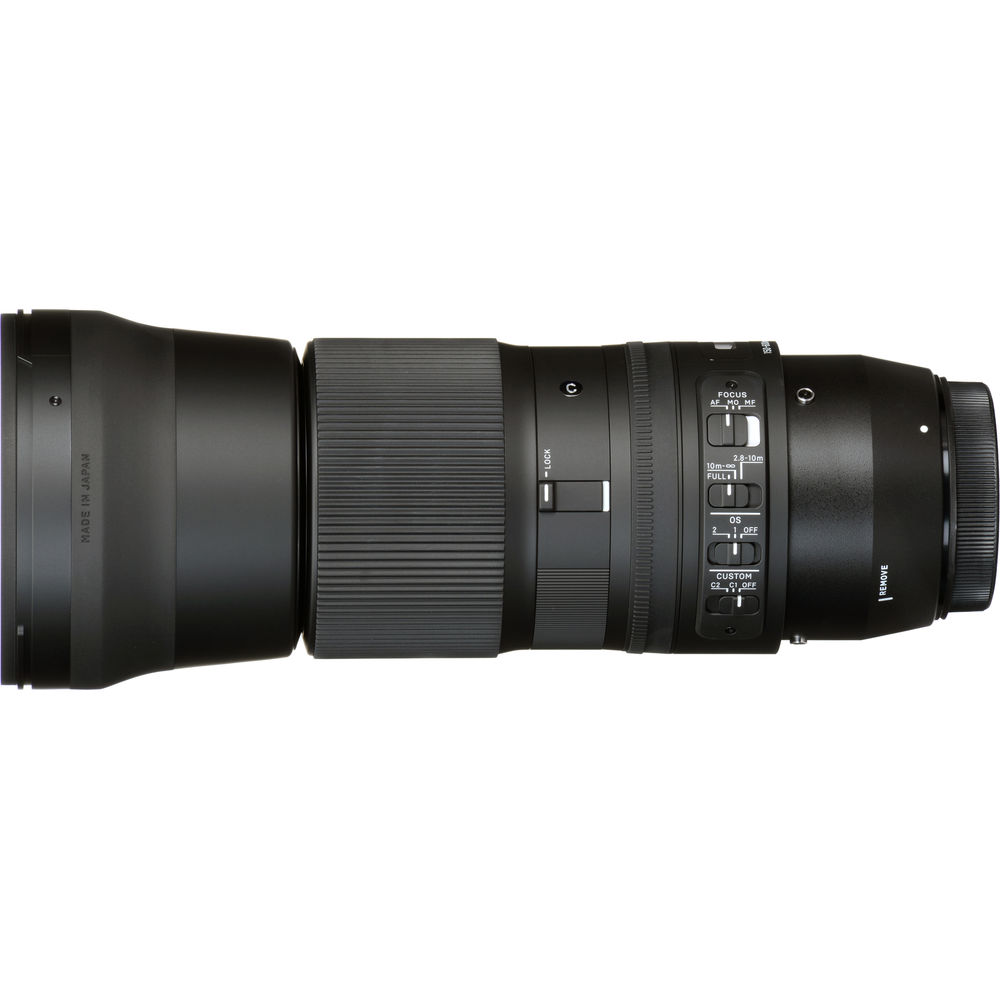 Sigma 150-600mm f/5-6.3 DG OS HSM Contemporary Lens for Canon EF