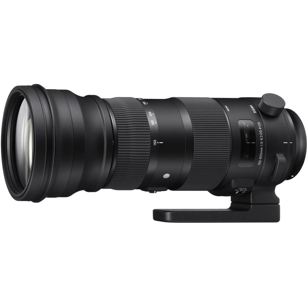 Sigma 150-600mm f/5-6.3 DG OS HSM Sports Lens for Nikon F
