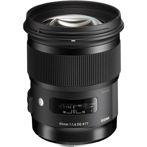 Sigma 50mm f/1.4 DG HSM Art Lens for Canon EF