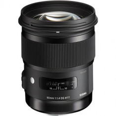 Sigma 50mm f/1.4 DG HSM Art Lens for Canon EF
