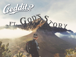 Geddit? ft. God's Story