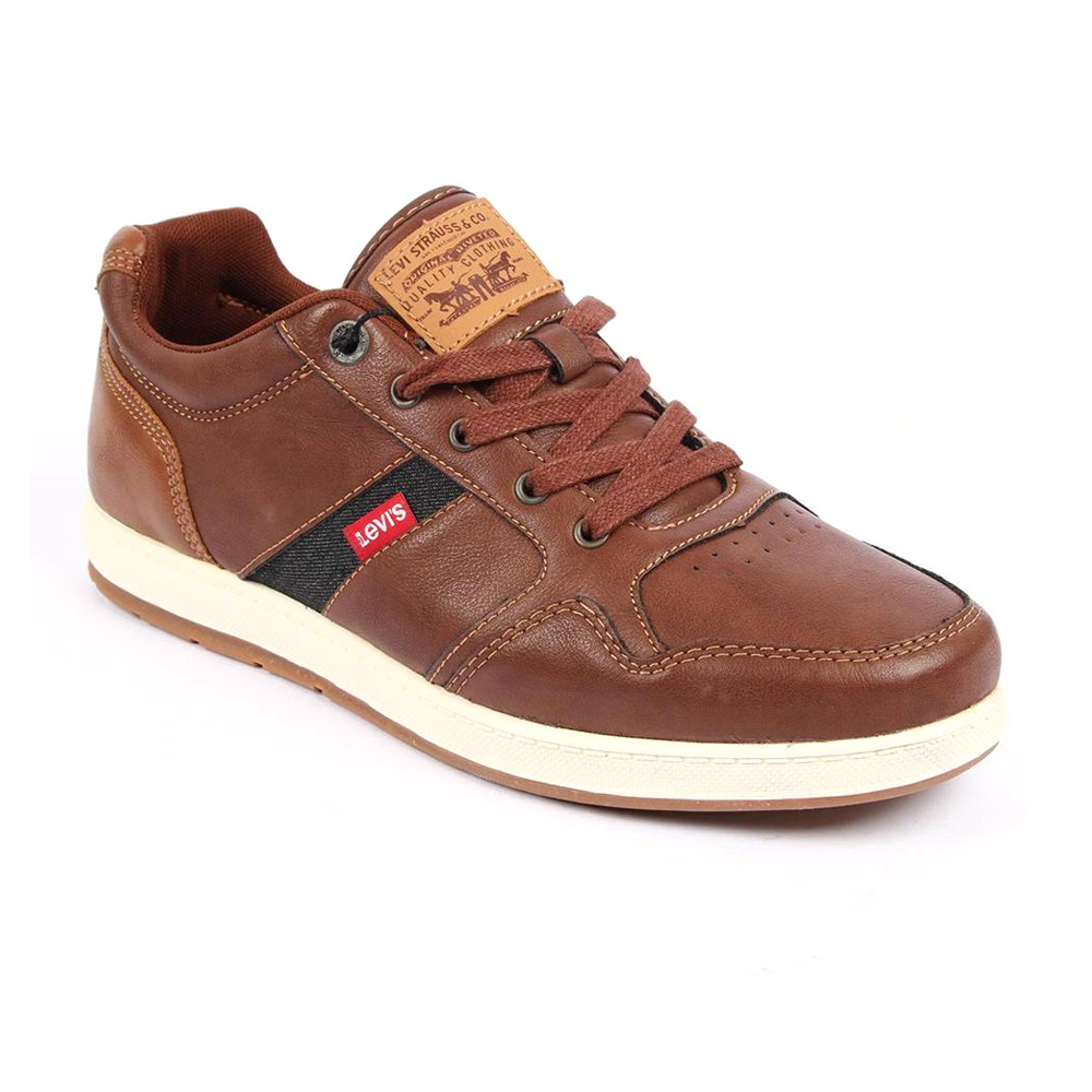 Levis Casual Shoes for Men- Chocolate