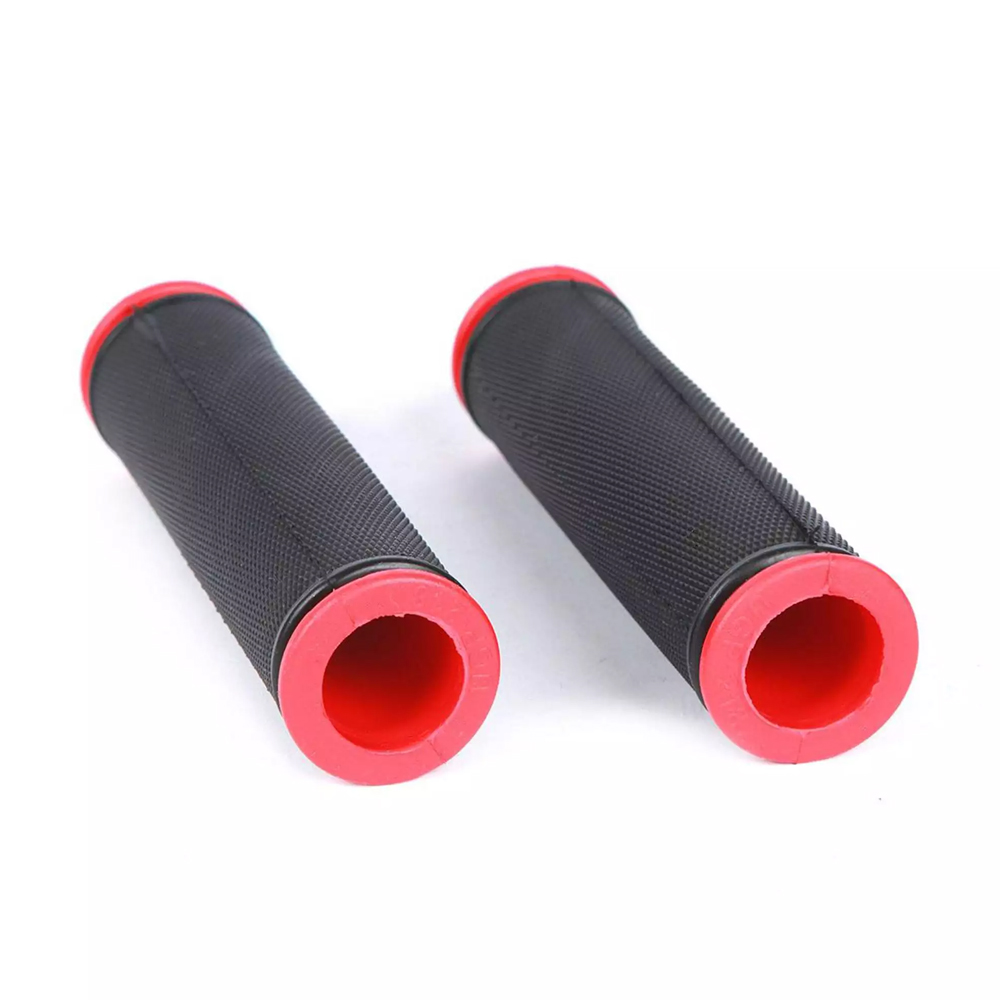 1 Pair Cycling Bicycle Bike Road MTB Mountain Lock-On Handlebar Grips Bar Ends
