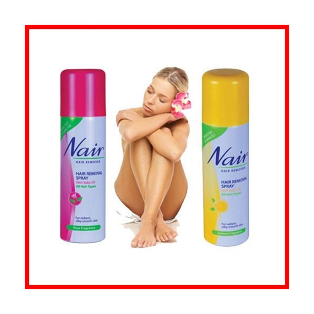 Nair Hair Remover Spray E Valy Limited Online Shopping Mall