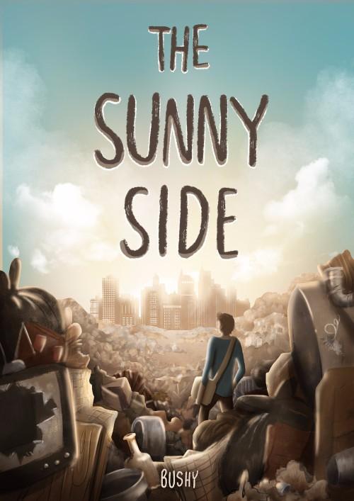 ปกนิยายเรื่อง The Sunny Side