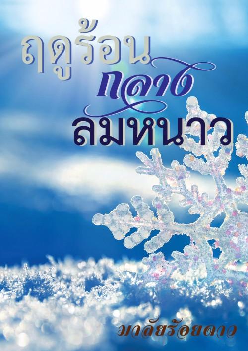 ปกนิยายเรื่อง ฤดูร้อนกลางลมหนาว