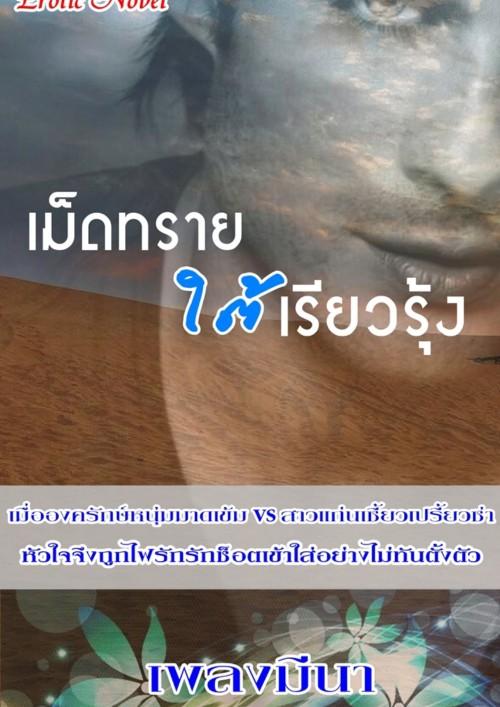 ปกนิยายเรื่อง เม็ดทรายใต้เรียวรุ้ง  (ชุดเล่ห์รักในรอยทราย)