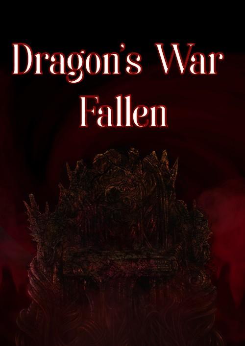 ปกนิยายเรื่อง Dragon's War: Fallen