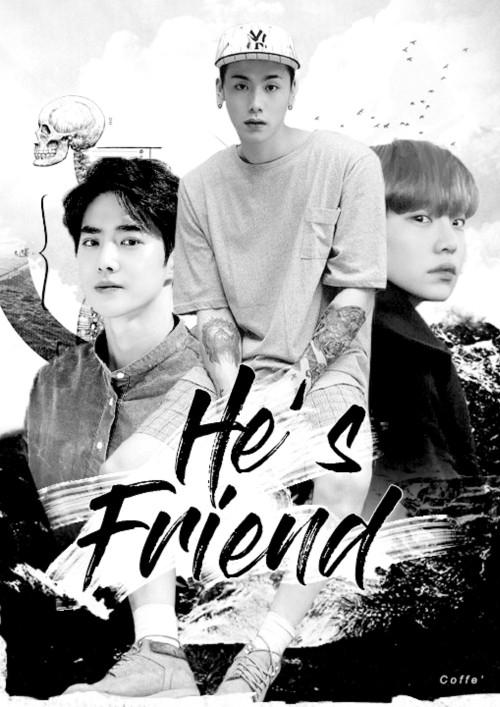 ปกนิยายเรื่อง กูไม่ใช่เพื่อนมึง (Yaoi NC18+)