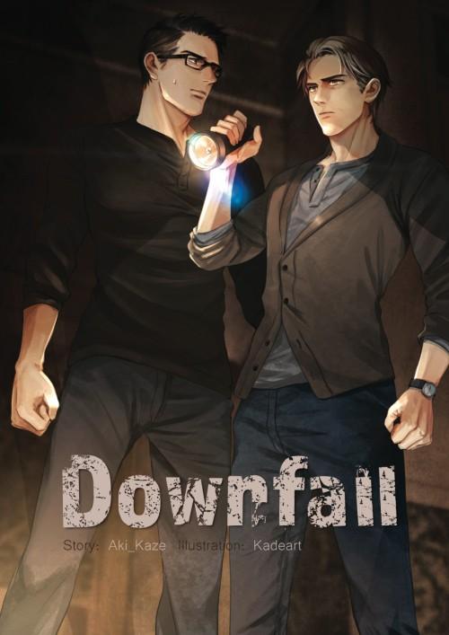 หน้าปกนิยาย เรื่อง DOWNFALL